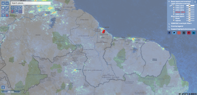 LightPollutionMap_Screenshot